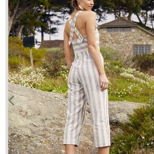 NWT Altard state morrow linen button jumpsuit